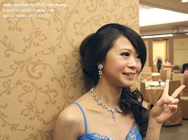 氣質側邊盤髮,優雅造型,浪漫捲髮,台北新祕~薇娜VINAHUANG (4).jpg