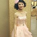 甜美紗帽造型,捲髮公主頭,俏麗捲髮包頭,台北新祕~薇娜vina huang (2).jpg