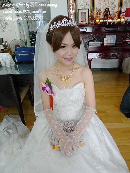 氣質盤髮,典雅髮型,日式公主造型,新祕,新祕推薦,台北新祕~薇娜vina huang.jpg