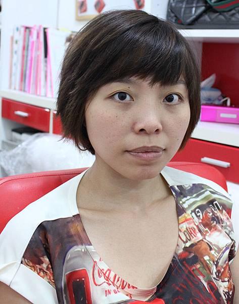素人改造,短髮新娘,氣質典雅短髮,個性龐克短髮,新娘秘書,新秘推薦,台北新秘,薇娜vinahuang, (1)