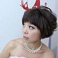 素人改造,短髮新娘,氣質典雅短髮,個性龐克短髮,新娘秘書,新秘推薦,台北新秘,薇娜vinahuang, (6)