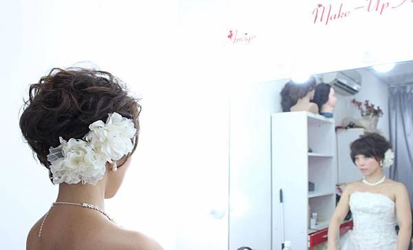 素人改造,短髮新娘,氣質典雅短髮,個性龐克短髮,新娘秘書,新秘推薦,台北新秘,薇娜vinahuang, (17)