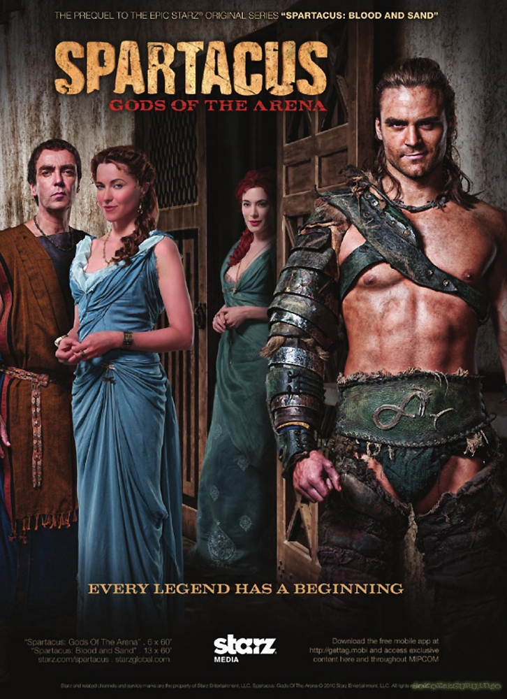 Spartacus, Gods of the Arena Poster 02.jpg