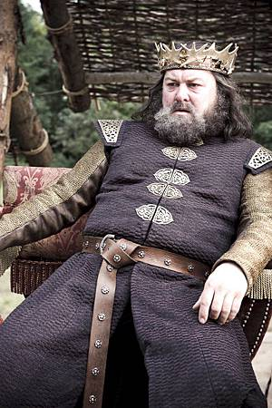 Mark Addy ... as Robert Baratheon.jpg