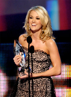 Favorite Country Artist - Carrie Underwood, 2010 Peoples Choice Awards.jpg