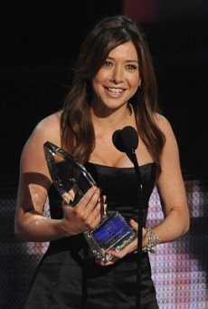 Favorite TV Comedy Actress - Alyson Hannigan, 2010 Peoples Choice Awards.jpg