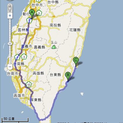 Day1 跑路圖
