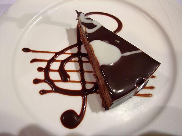 巧克力慕司蛋糕