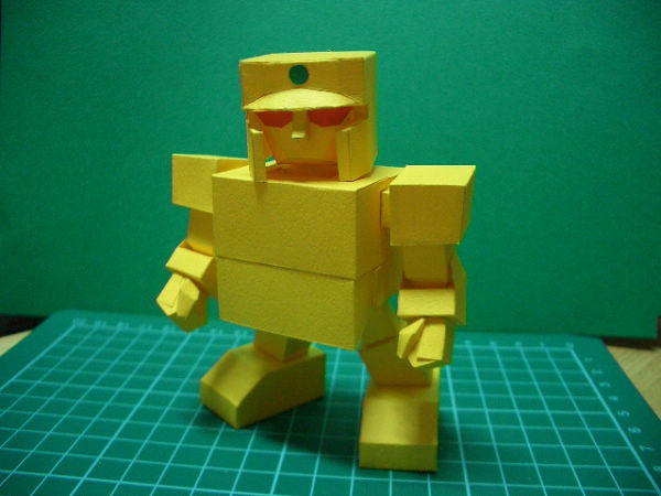 紙模-SD黃金戰士1(1)