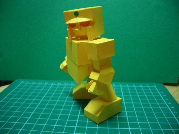 紙模-SD黃金戰士(2)