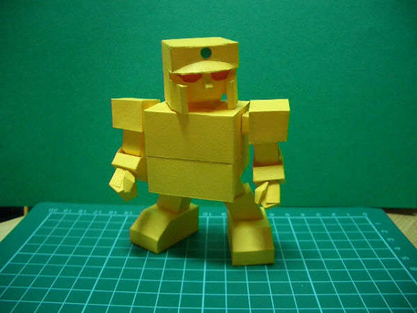 紙模-SD黃金戰士(3)