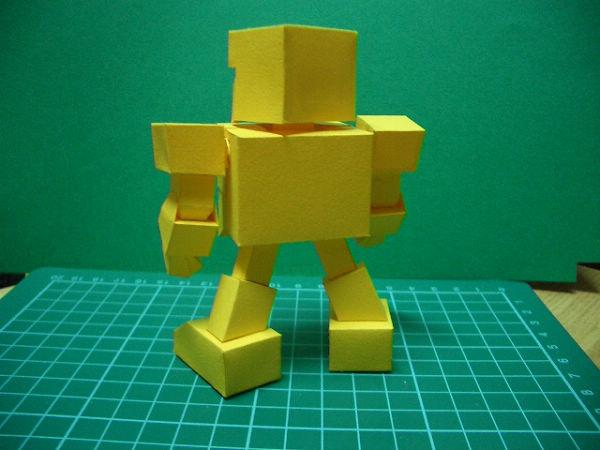 紙模-SD黃金戰士(4)