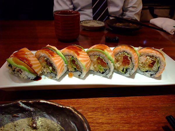 很好吃的壽司卷!