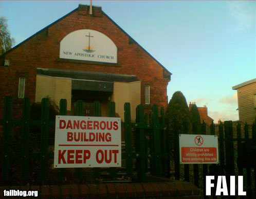 Church is Dangerous