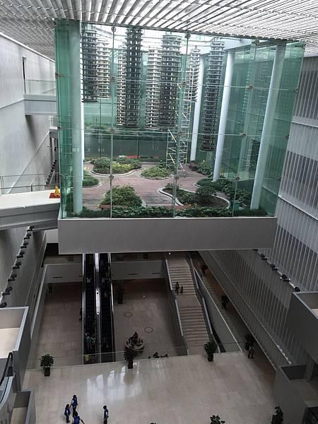 浦東圖書館-頂樓小溫室
