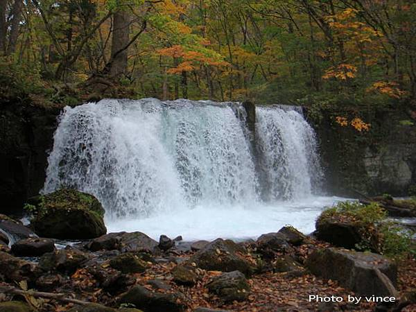 奧入瀨溪  鉗子瀑布