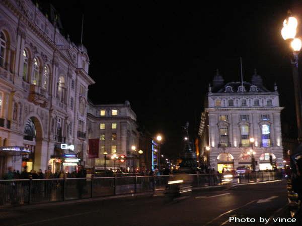 倫敦鬧區夜景