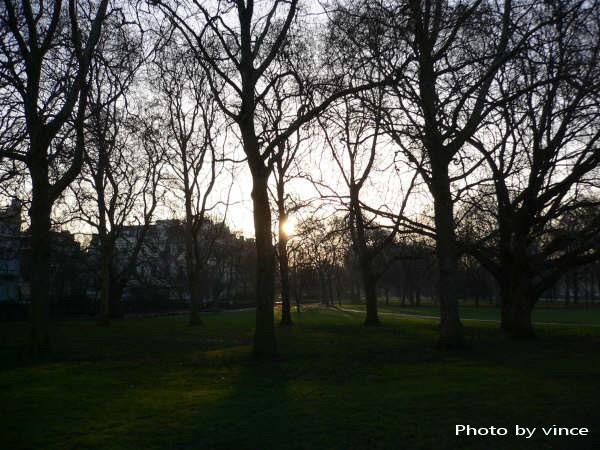 清晨的Green Park
