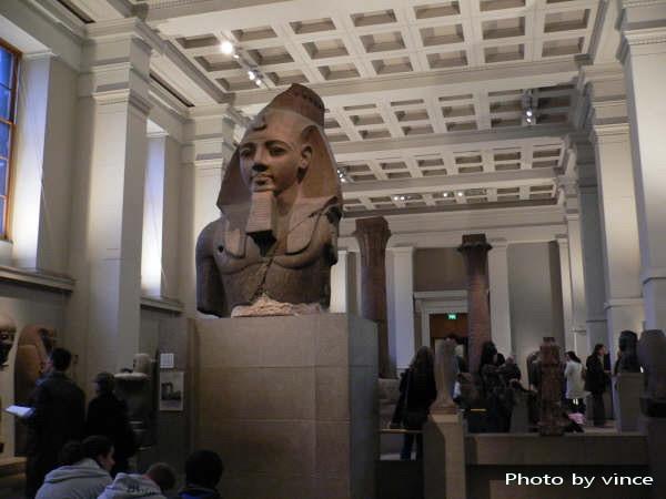 大英博物館 埃及雕像
