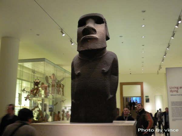 大英博物館 復活島雕像