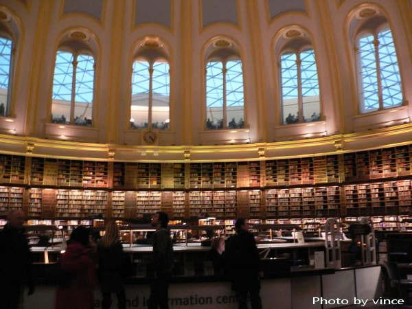 大英博物館  閱覽室