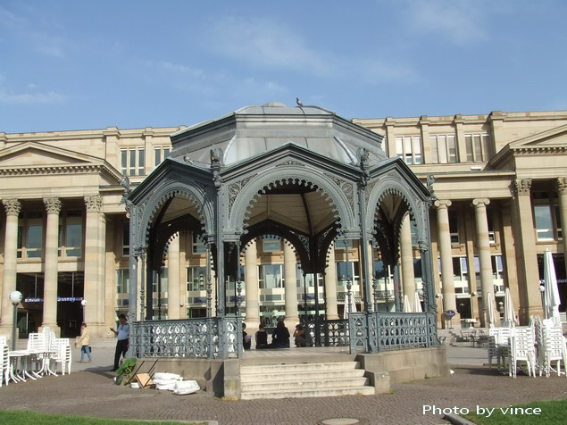 宮殿廣場的涼亭