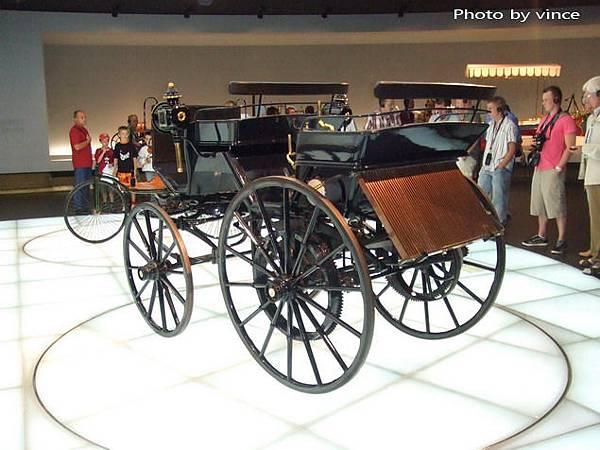 賓士博物館 展出車1
