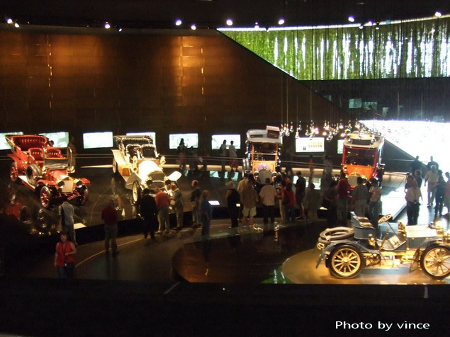 賓士博物館 展出車2