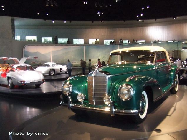 賓士博物館 展出車3