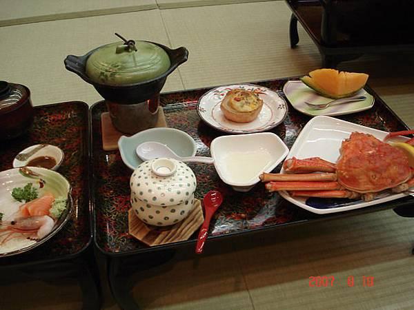 大江本家 懷石晚餐