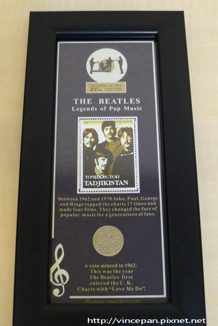 Beatles 紀念品