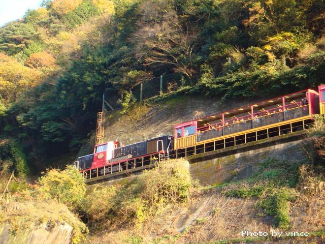 嵯峨野トロッコ小火車 2