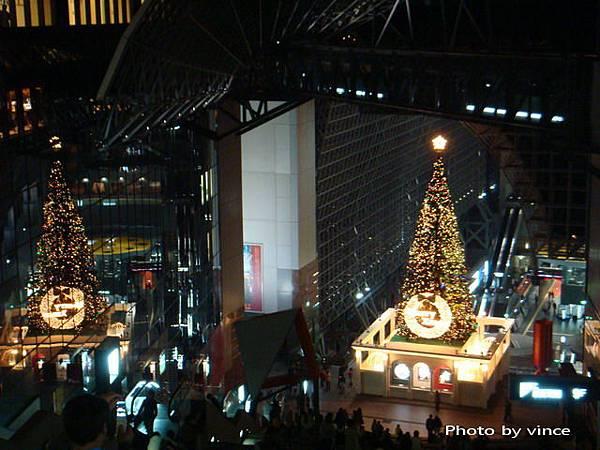 京都車站夜景 聖誕樹