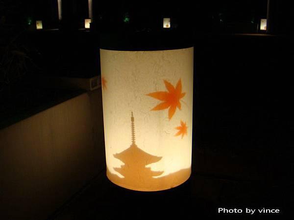 京都車站頂樓  夜燈飾
