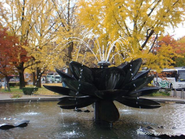 東本願寺 蓮花噴泉