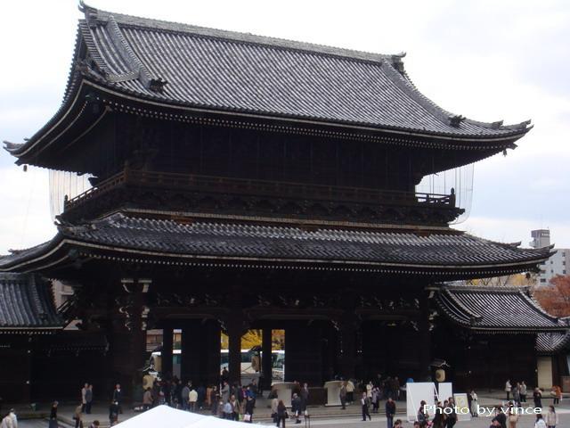 東本願寺 三門