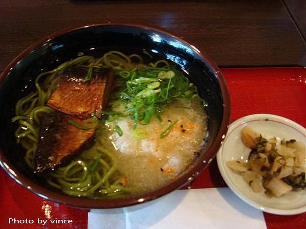 中村藤吉的茶蕎麥麵
