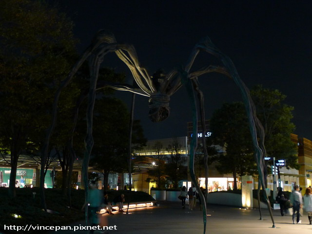 六本木Hills蜘蛛雕塑