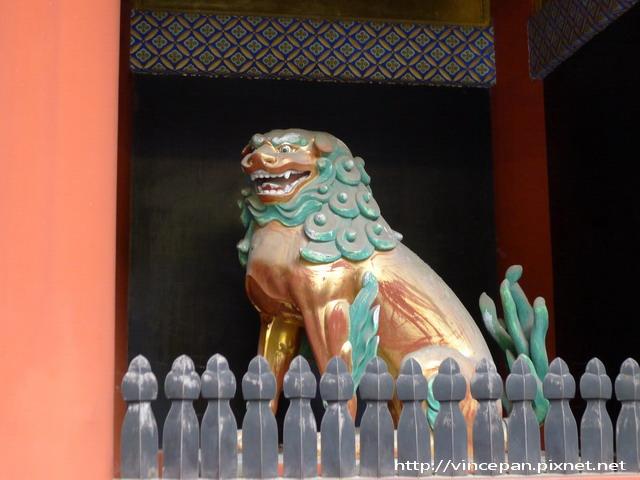 東照宮  守護犬 獅子
