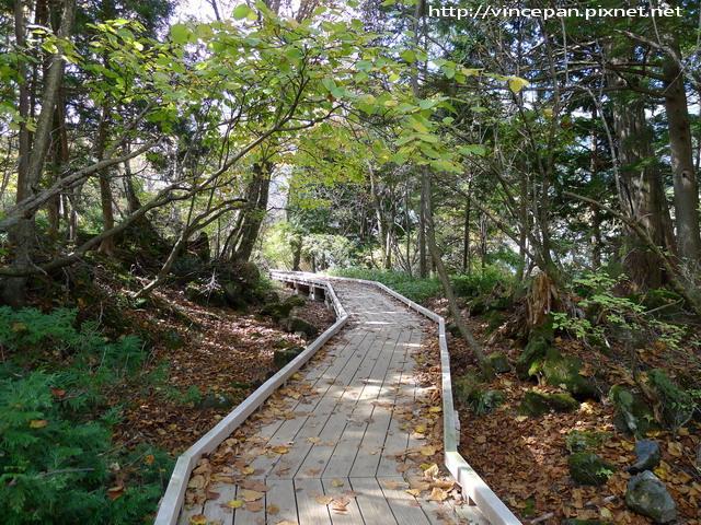 湯之湖  步道