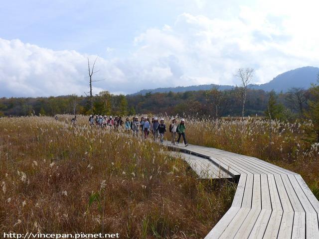 戰場之原自然步道 小學生