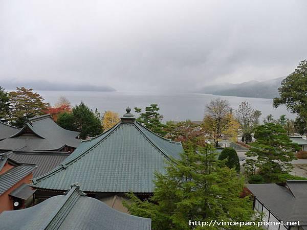 中禪寺 遠眺湖