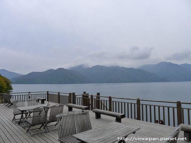 中禪寺湖畔船屋 湖景