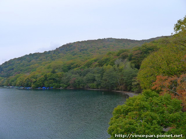 中禪寺湖畔 紅葉