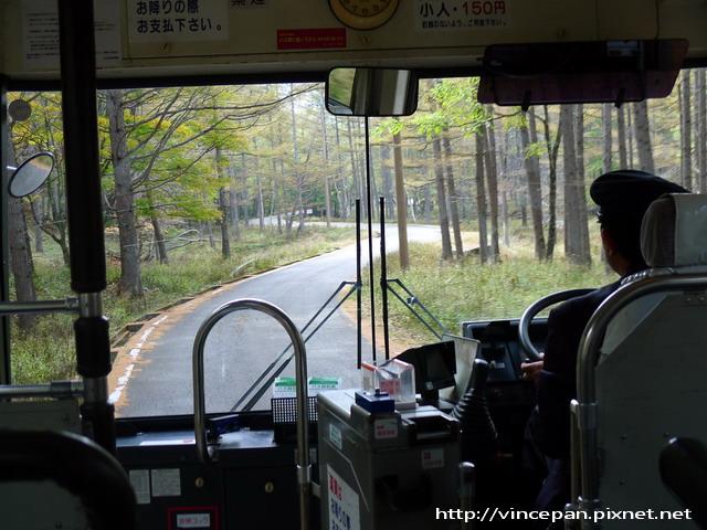 低公害巴士內