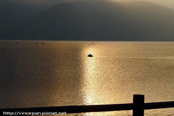 中禪寺湖 傍晚