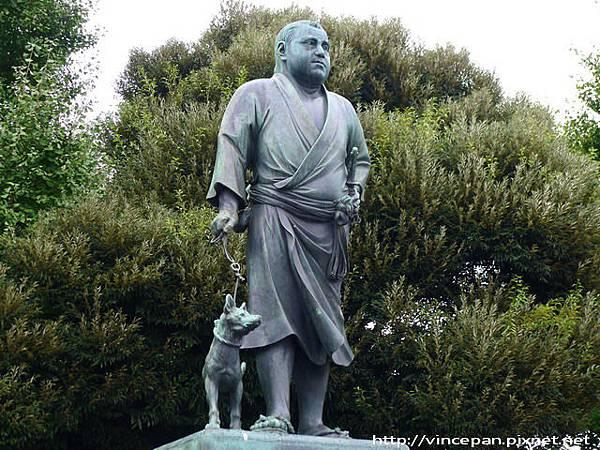 西鄉隆盛 雕像