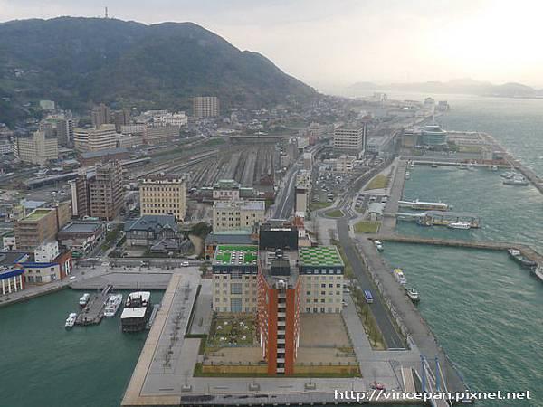 門司港大飯店 與車站