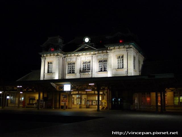 門司港車站 夜景