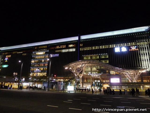 博多車站夜景